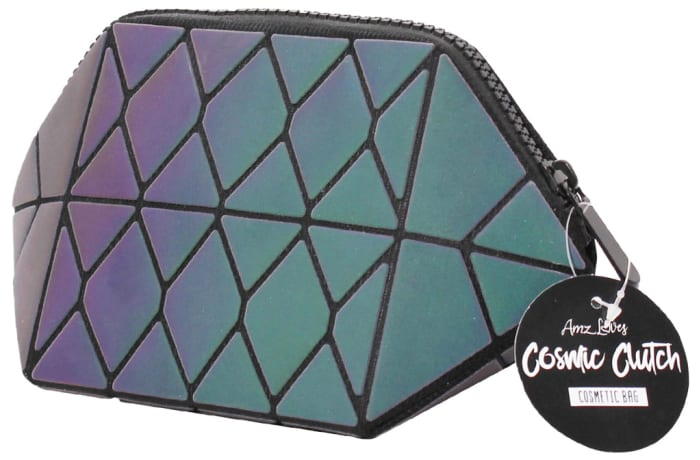 Cosmetic Bag  Amz Loves  Galactic Hexagon Purse image