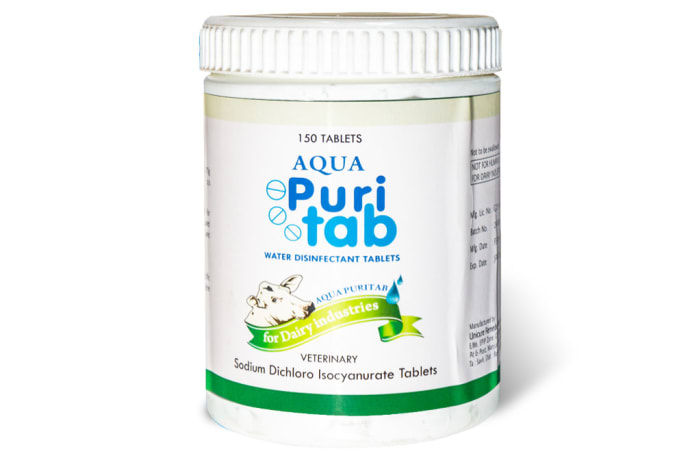 Aqua Puri Tab - For Dairy Industries image