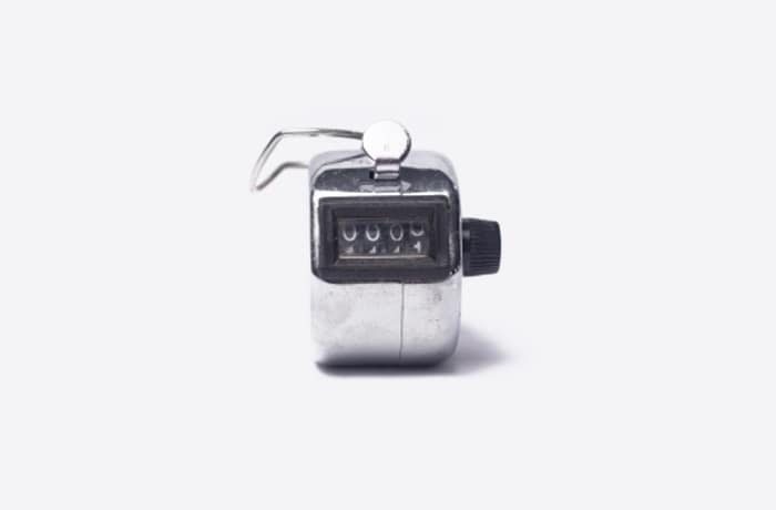 Hand tally counter image
