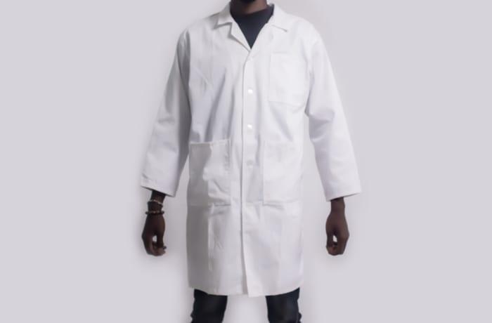 White coat cotton image