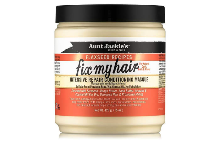 Fix My Hair  Intensive Repair Conditioning Masque  Curls & Coils Flaxseed Recipes 462g image