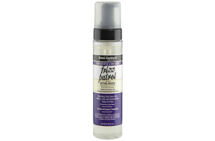 Grapeseed Style & Shine Recipes  Frizz Patrol anti-Poof Twist & Curl Setting Mousse  image
