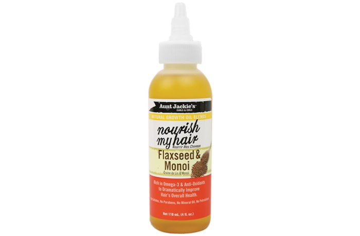 Nourish My Hair Flaxseed & Monoi Natural Growth Oil Blends 118ml image