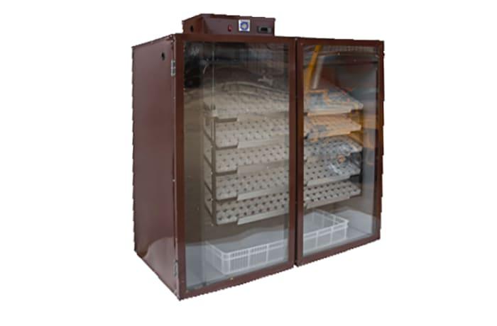 Automatic Turning Incubator 1,100 Chicken (2,720 Quail) egg Capacity  image