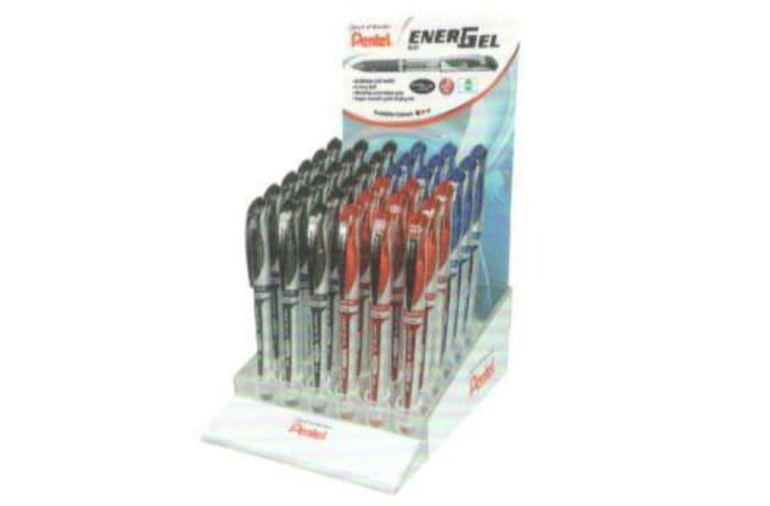 Energel Roller Pens -  EnerGel Metal Tip Roller Ball - BL60 4DA Display image
