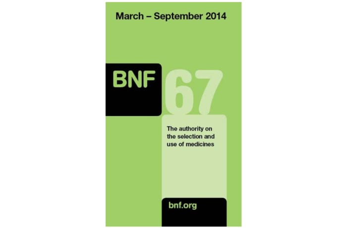 BNF 67-The Authority On The Selection And Use Of Medicines image