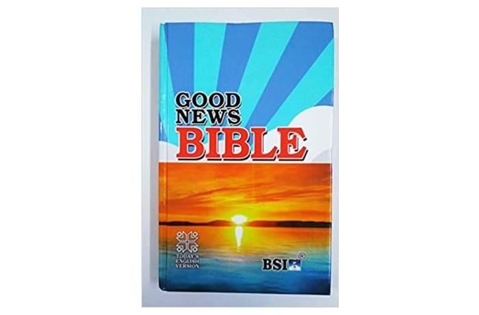 Good News Bible in English Hard Bound  Cover Hardcover image