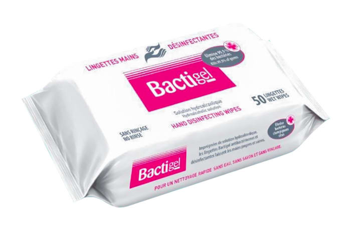 Bactigel Disinfecting Hand Wipes  image