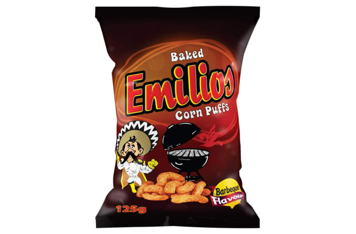 Emilios Corn Puffs - BBQ 12 x 125g image