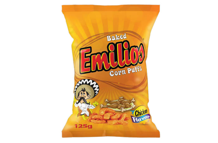Emilios Corn Puffs - Chicken 12 x 125g image
