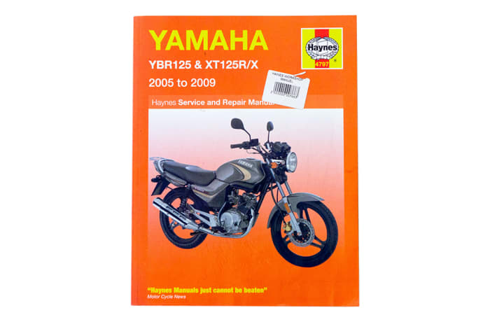 Book - Yamaha YBR125 and XT125R/X image