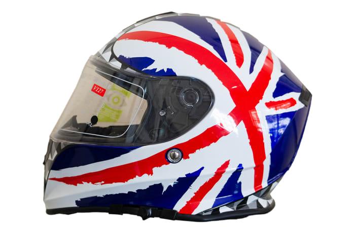 Motorcycle Helmet - Tanked Racing V127 image