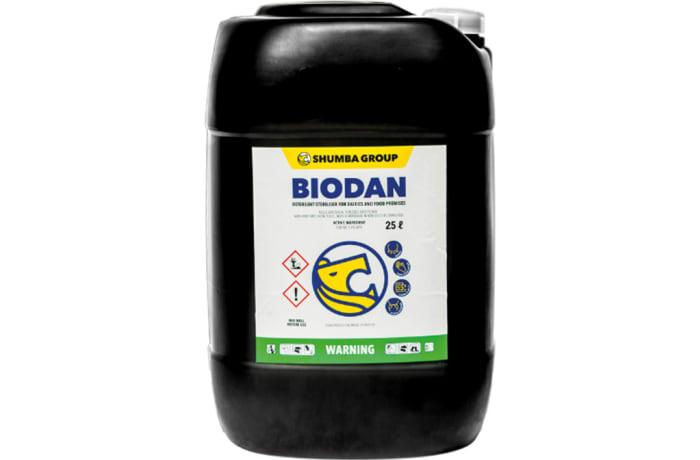 Biodin Iodine Based Sterilizer for Dairies and Food Premises  Iodine 1.6%  image