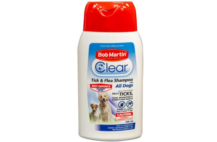 Bob Martin Clear Tick and Flea Shampoo image