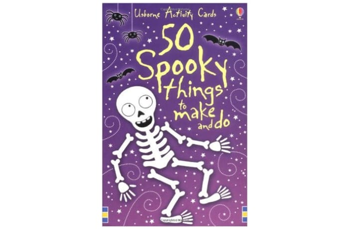 50 Spooky Things To Make And Do image