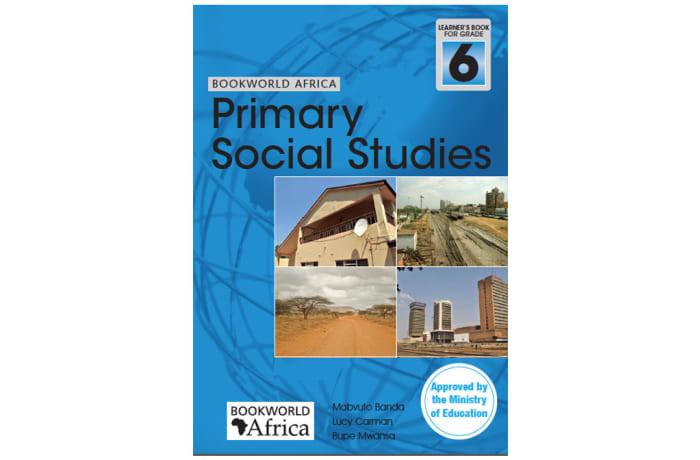 Bookworld Africa Primary Social Studies Pupil's Book 6 image