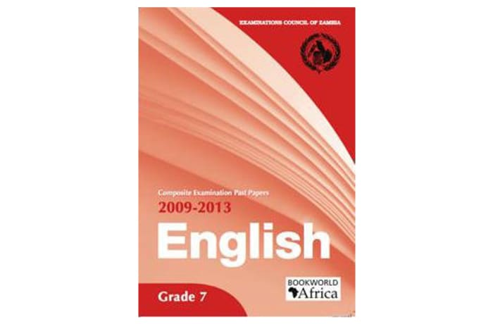 Grade 7 English Past Papers 2009-13 image