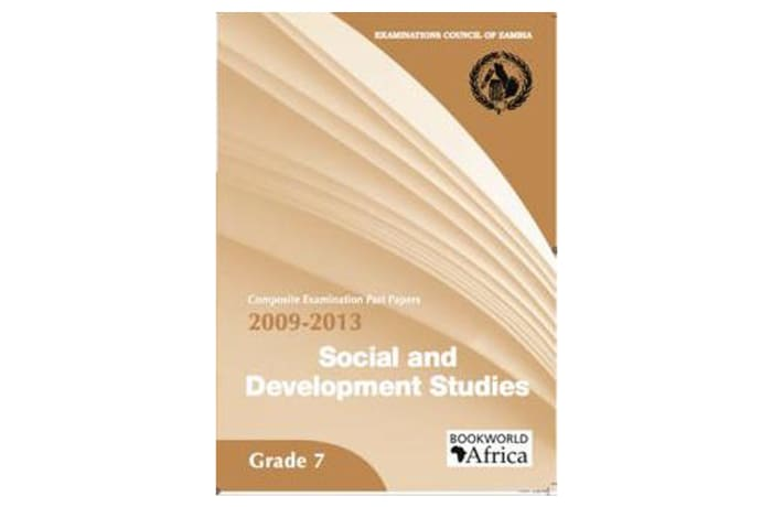 Grade 7 Social and Development Studies Past Papers 2009-13 image