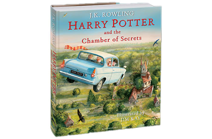 Harry Potter and the Chamber of Secrets Illustrated Edition By J.K. Rowling image