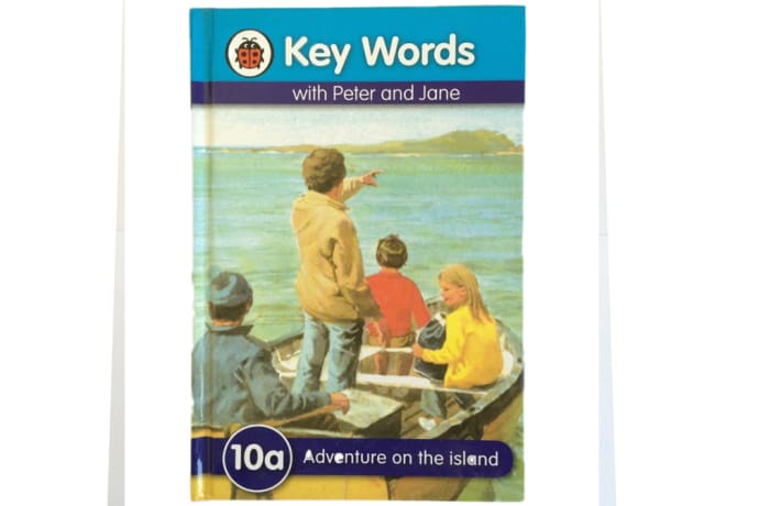 Key Words - With Peter And Jane – 10a Adventure On The Island image