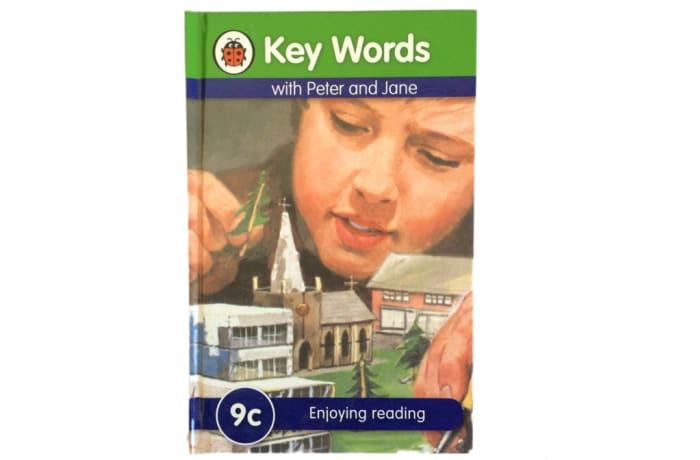 Key Words - With Peter And Jane – 9c Enjoying Reading image