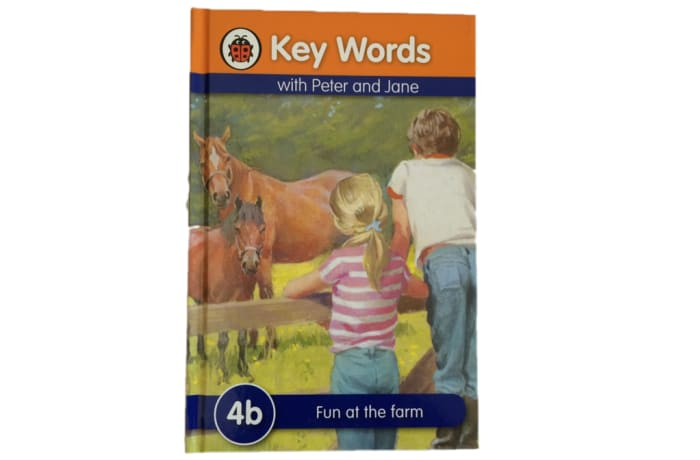 Key Words - With Peter And Jane – 4b Fun At The Farm image