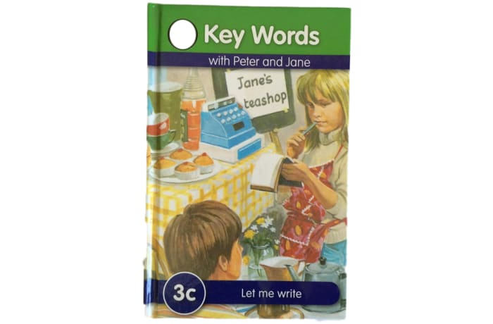 Key Words - With Peter And Jane – 3c Let Me Write image