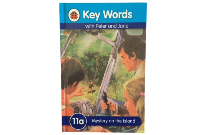 Key Words - With Peter And Jane – 11a Mystery On The Island image