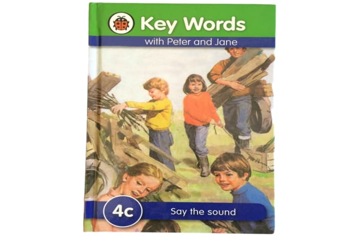 Key Words - With Peter And Jane – 4c Say The Sound image