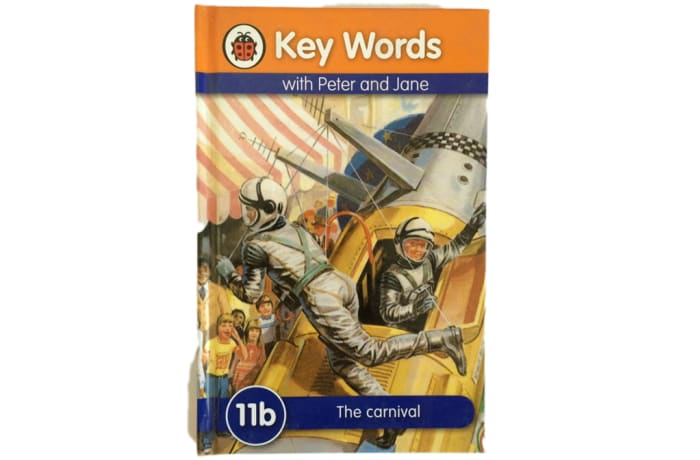 Key Words - With Peter And Jane – 11b The Carnival image