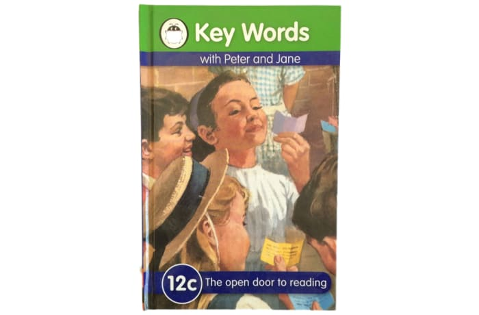 Key Words - With Peter And Jane – 12c The Open Door To Reading image