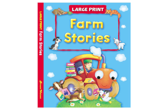 Large Print - Farm Stories image