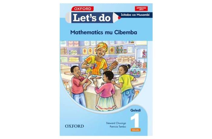 Let's do Mathematics Grade 1 Pupil's Book – Icibemba image