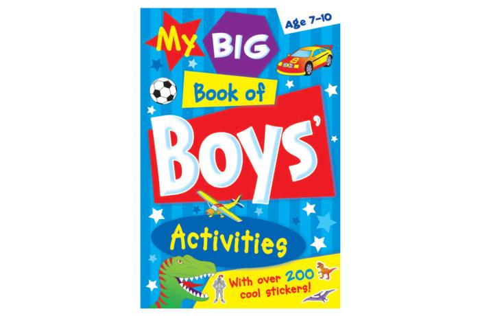 My Big Book Of Boys' Activities image