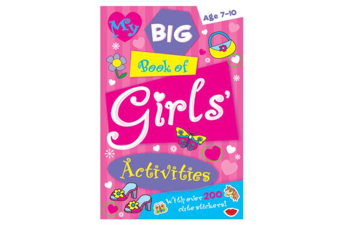 My Big Book Of Girls' Activities image