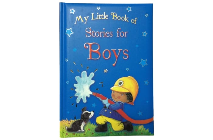 My Little Book of Stories for Boys image