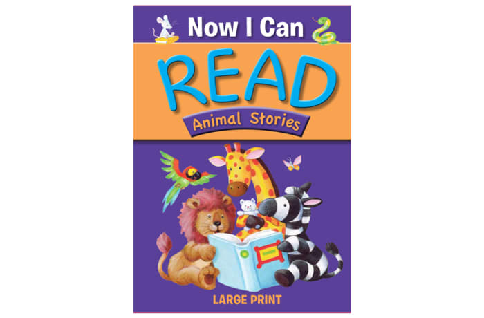 Now I Can Read Animal Stories image