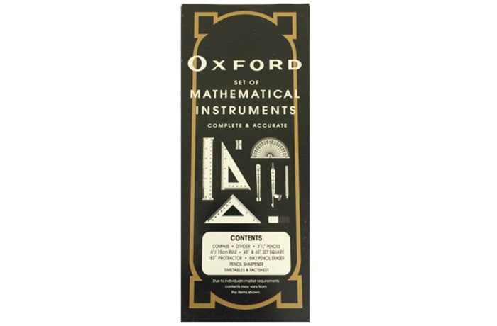 Oxford Mathematical Set image