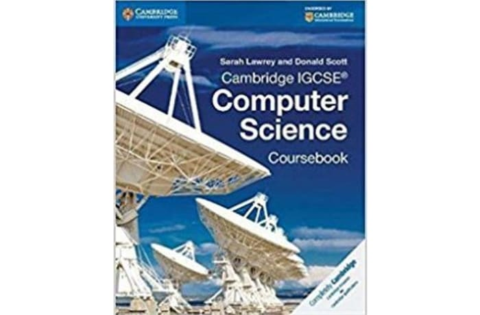 Cambridge IGCSE Computer Science Coursebook image