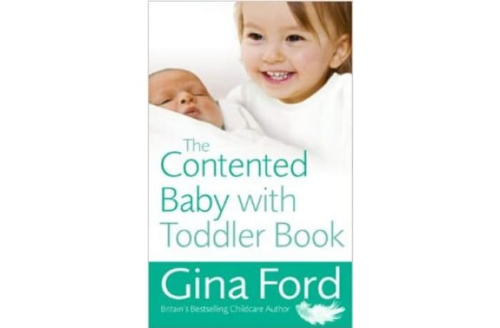 Contented Baby With Toddler image