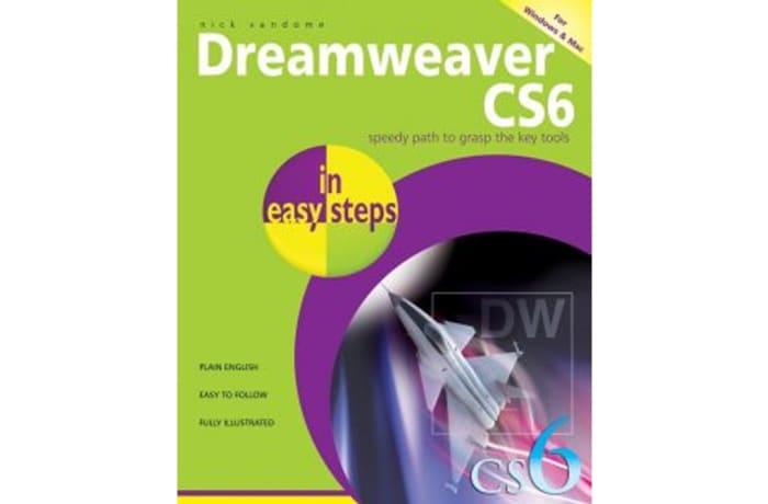 Dreamweaver CS6 in Easy Steps image