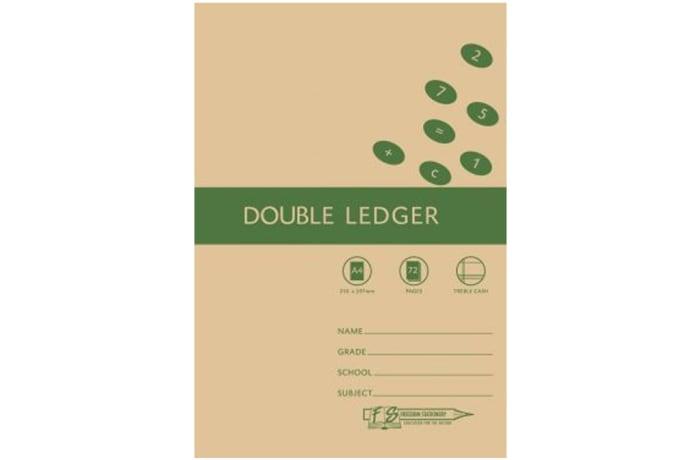 FS Double Ledger A4 72pg image