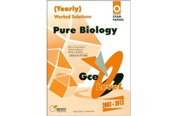 GCE O Level Pure Biology Yearly Worked Solution image