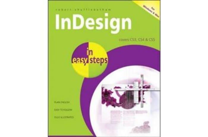 InDesign in Easy Steps Covers CS3, CS4 & CS5 image