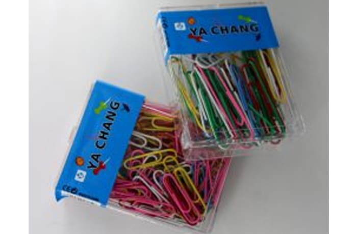 JY – Colored paper clips 50MM image