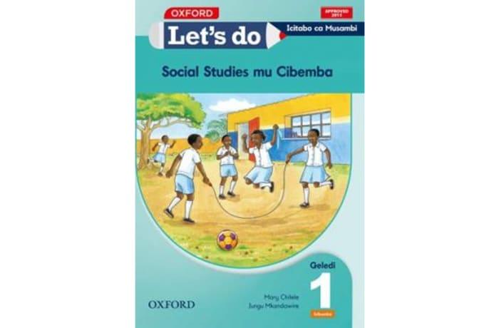 Let's do Social Studies Grade 1 Pupil's Book – Icibemba image