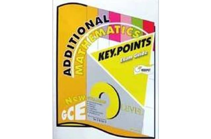 O'Level Additional Mathematics Key Point Exam Guide image