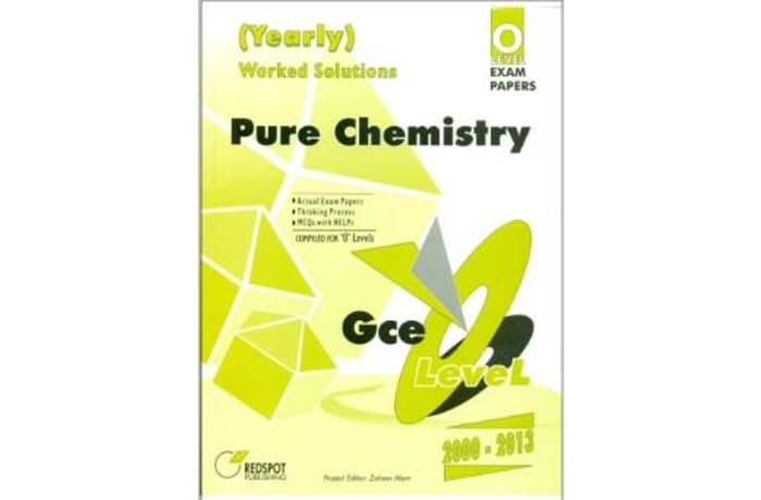 O'Level Pure Chemistry Yellow-Yearly image