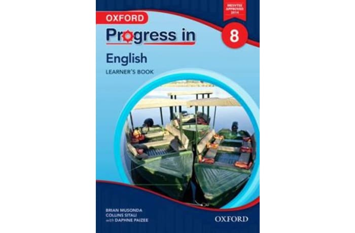 Progress in English Grade 8 Learner's Book image