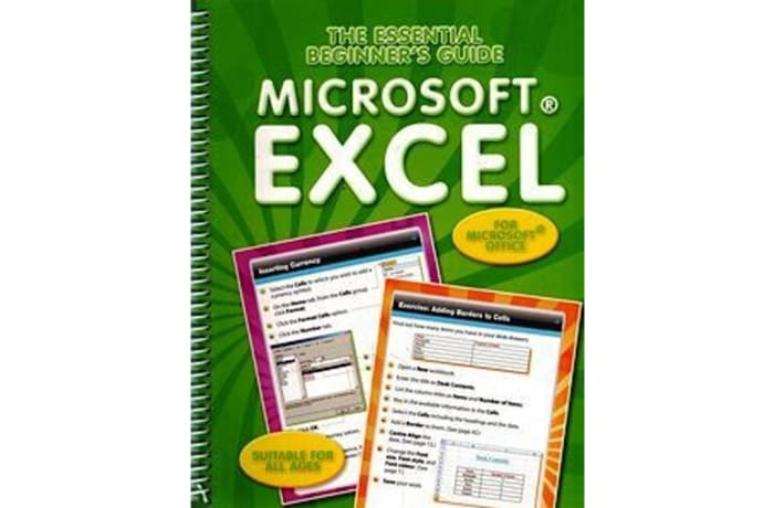 The Essential Beginners Guide: Microsoft Excel image